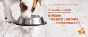 『消化器疾患と臨床栄養学』~手作り食で出来ること~|鳥巣至道lJTCVM国際中獣医学院日本校事務局